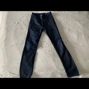 💯Authentic Miu Miu dark denim high rise jeans